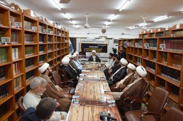 مركز الإمام الصادق عليه السلام يقيم ندوة تحت عنوان: (لِيَشْهَدُوا مَنافِعَ لَهُمْ)