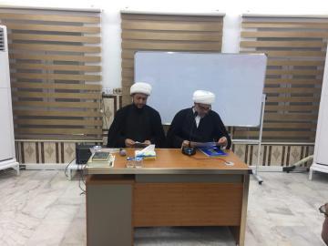 مركز الامام الصادق (ع) يقيم ندوة علمية تحت عنوان فلسفة الفقه بحضور فضيلة الشيخ الشيخ قيس الطائي